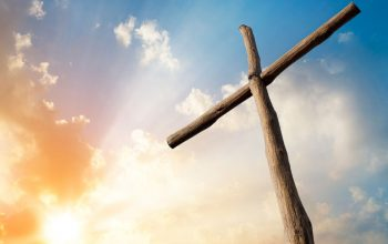 An Image that replicates the cross symbol of christianity.