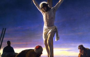 Image That Represents the crucifixion of jesus christ.